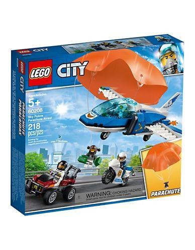 Lego City Sky Police Parachute Arrest 60208 Lego City City Sky