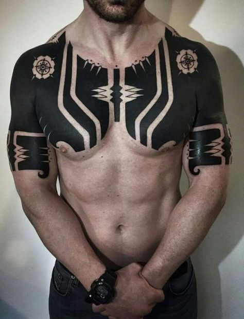 30 Coolest Tribal Tattoos For Men | Men Wear Today - Tattoos