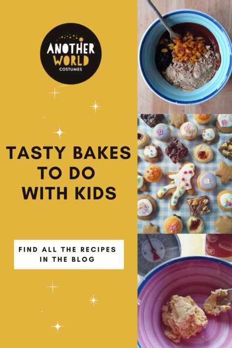 Baking is a wonderful activity to involve kids of all ages with. There are 5 delicious recipes to choose from in this post. Happy Baking! #easybaking #bakingwithkids #simplebaking #kidsbaking