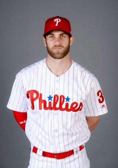 Bryce Harper Phillies Baseball Phillies Famous Baseball Players