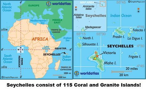 Seychelles Are Located Northeast Of Madagascar In Indian Ocean - Seychelles victoria map indian ocean