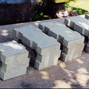 Source Top Quality Manual Foam Concrete Hollow Block Mold For Clc Blocks On M Alibaba Com Concrete Blocks Interlocking Concrete Blocks Interlocking Blocks