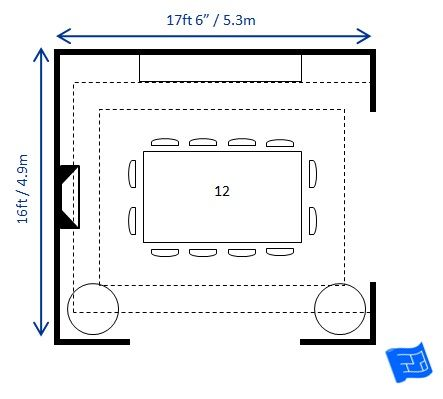 Does your dining room size work with the dimensions of your dining ...