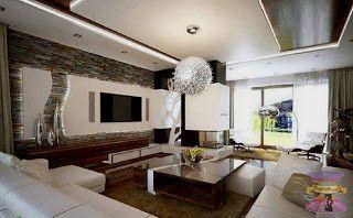 غرف معيشة 2021 ليفنج روم بديكورات بسيطة وجميلة Ceiling Design Bedroom Minimalist Living Room Living Room Design Modern