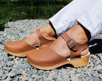 Clogs women,Swedish clogs,Leather clogs,Women clogs,Leather women shoes,Women sandals,Summer women shoes,White clogs,Leather women sandals