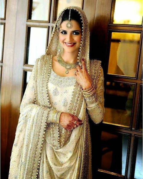 Bunto kazmi Bridal Dresses   Bridal Dresses for Nikah and Weddings Day - She9   Change the Life Style