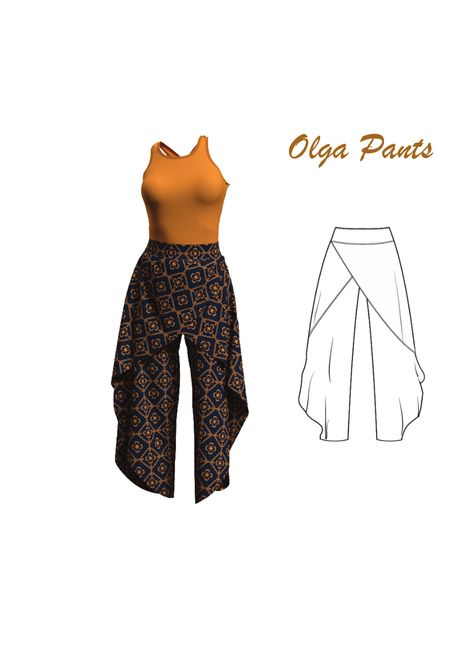 Good Absolutely Free sewing pants plus size Concepts Plus Size Sewing Patterns, Clothing Patterns, Clothing Ideas, Dress Patterns, Free Printable Sewing Patterns, Beginner Sewing Patterns, Shirt Patterns, Modern Sewing Patterns, Coat Patterns