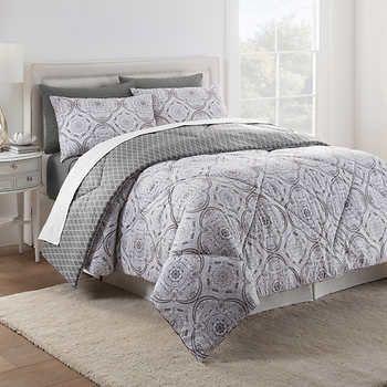 Style Decor 6 Piece Reversible Comforter Set Emma Comforter Sets Beautiful Bedding Linens Home