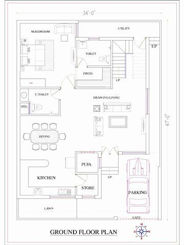 2 Dismil Home Design Awesome Small House Plans Best Small House Designs Bungalow Floor Plans Small House Design Plans 2bhk House Plan