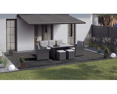 Terrassenplatte Feinsteinzeug Streetline Graphit 60 X 60 X 2 Cm 2 Stuck Kaufen Bei Obi Terrassenplatten Terrassenbelag Gehwegplatten