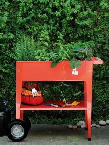 Gartentrolley Urban Mit Bildern Hochbeet Container Garten