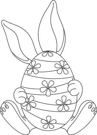 123rf Millions Of Creative Stock Photos Vectors Videos And Music Files For Your Inspiratio In 2020 Egg Coloring Page Coloring Easter Eggs Easter Egg Coloring Pages
