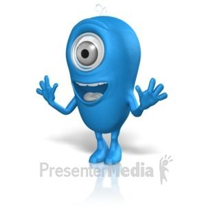 Happy Excited Expression Eyebrows Raised Great Powerpoint Clipart For Presentations Presentermedia Com Clip Art Excited Face Presentation