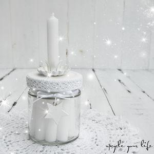 Kerzen Im Glas White Christmas Kerze Im Glas Geschenke Im