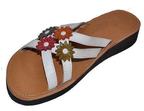 43e92e7af491 Women s Authentic Handmade Mexican Sandals (Huaraches) Blanca 4 Flores     Sincerely hope that you actually enjoy the picture. (This is our affiliate  link)   ...