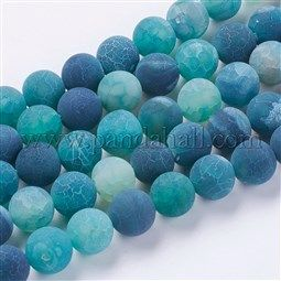 Natural Effloresce Agate Beads Strands Uk G G589 10mm 04 With Images Bead Strand Agate Beads Light Sea Green