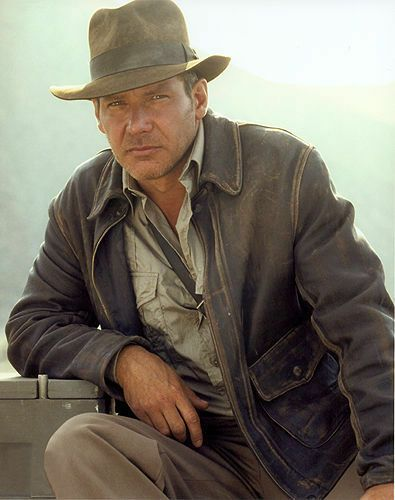Harrison Ford Indiana Jones Brown Faux Leather Jacket Buy