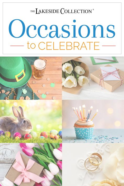 There's always something to be celebrating, so we've created a one-stop-shop for every occasion! Visit our Occasions portal to find everything you need for the next holiday, birthday graduation, wedding, new baby, new home or other special events. Choose party decorations, select gifts and more! Most of all, remember to Have Fun!
