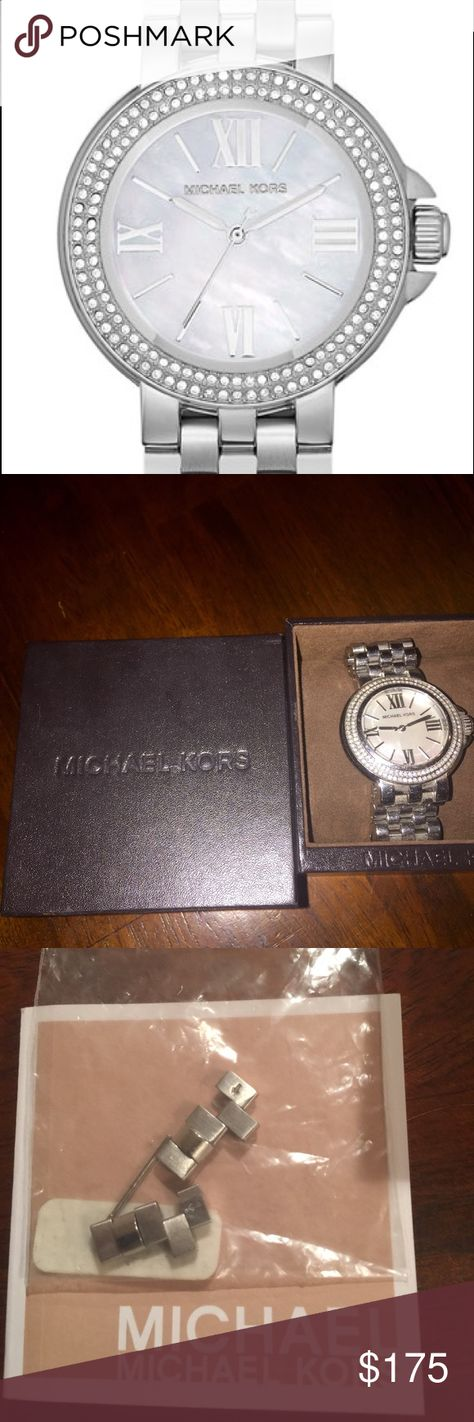 fc0c1f1955e0 List of Pinterest michales kors watch silver crystals nordstrom ...