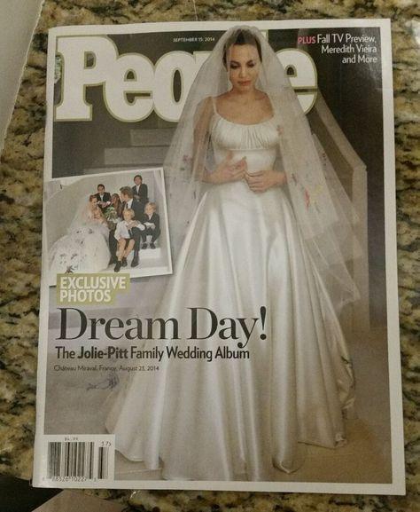 Brand New People Angelina Jolie Brad Pitt Family Wedding Album