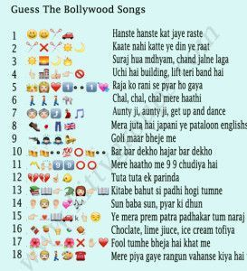 Whatsapp Puzzle Guess The Bollywood Songs Kitty Party Themes Ladies Kitty Party Games Kitty Party Games