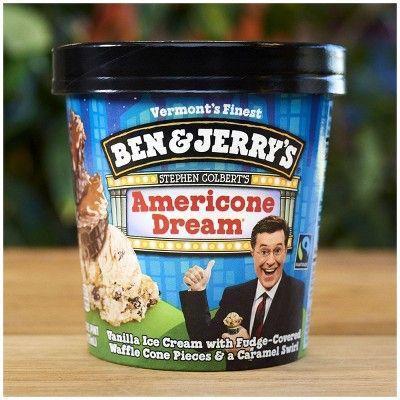 Ben Jerry S Ice Cream Americone Dream 16oz Dream Ice Cream
