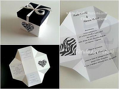 Partecipazioni Matrimonio Originali.Partecipazioni Matrimonio Exploding Box Inviti Originali