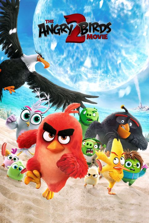 The Angry Birds 2 Movie Wallpapers in 2020 | Movie wallpapers, Angry birds  movie, Movies