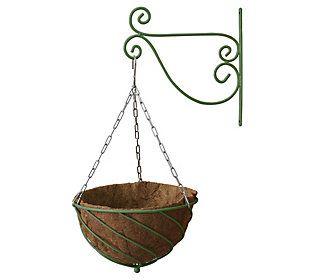 16 Vegtrug All In One Hanging Basket Qvc Com In 2020 Metal Hanging Planters Hanging Planters Decorative Hanging Baskets