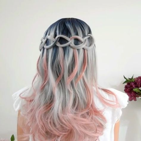 50 Awesome Waterfall Braid You Can Do at Home, Today's topic is Awesome Waterfall Braid You Can Do at Home.As huge fans of the short pixie cutsandbraiding techniques, we had to feature a simp..., Braids
