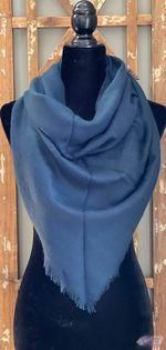 1/2 size blanket scarf beautiful colors less bulky and lighter weight so you can easily layer! the perfect compliment to ANY fall/winter outfit