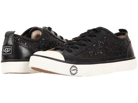 Ugg Boots Womens Evera Black Glitter