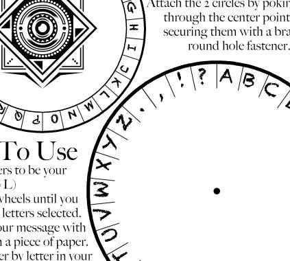 photograph regarding Cipher Wheel Printable referred to as Cipher Wheel, Spy Occasion Printables, Escape Place Video game