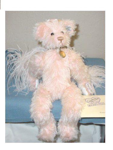 Bears Annette Funicello Teddy Bear Bubbles Bath Collectors Plush Bear With Kitten Coa