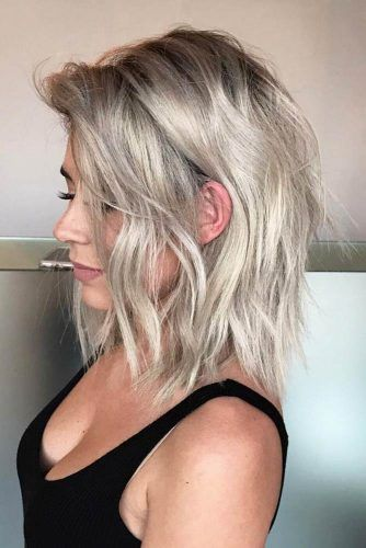 Layered Haircuts Shoulder Length Pinterest Hashtags, Video and ...