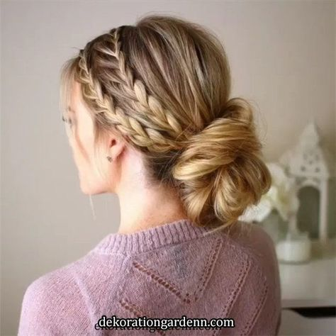 50 Chic and Elegant Wedding Hairstyles Ideas for Bridal 2019 On the wedding day, there are many ways to shape the mid-length hair. If you have wavy - #bridal #elegant #hairstyles #ideas #there #wedding - #HairstyleBridal