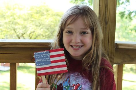 Fourth of July Flag Craft