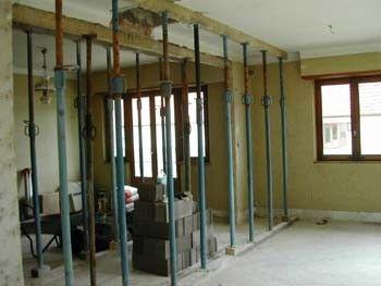 Remplacer Mur Porteur Par Ipn Mambobc Com Avec Images Mur Porteur Mur Meuble
