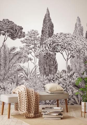 Riviera Grisaille En 2020 Avec Images Papier Peint Panoramique