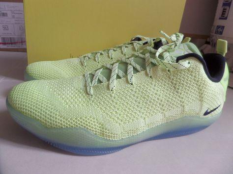 9186dc37431e 100% Auth Nike Kobe XI Elite Low 4KB Liquid Lime sz 14  824463-334 ...