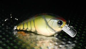 Bluegill Custom painted 1.5 square bill Crankbait