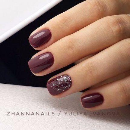Maroon Pedicure Toenails 29 Ideas Wine Nails Red Acrylic Nails Burgundy Nails
