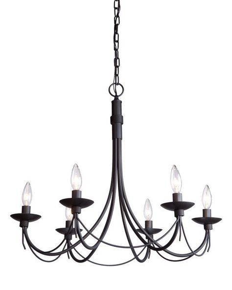 Artcraft Lighting Ac1486eb Iron Chandeliers Wrought Iron Chandeliers Black Chandelier