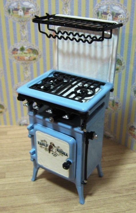 1:12 Scale Mini Stove Chimney Model Dollhouse Miniature Accessories Kitchen Toy