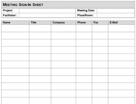 Attendance Sheet Template In Word Format u2013 Microsoft Office - project task list template word