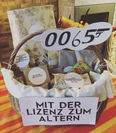 Geschenkekorb Zum Geburtstag Geschenke Verpacken