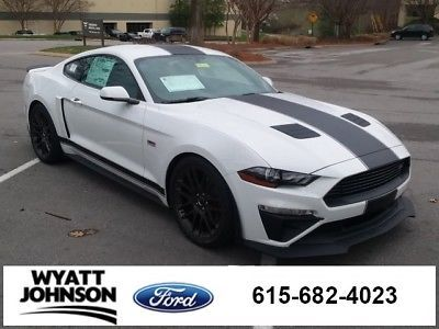Ebay Mustang Gt Premium 2018 Ford 6 Miles Oxford White 2d Coupe 5 0l V8 Ti Vct S Fordmustang
