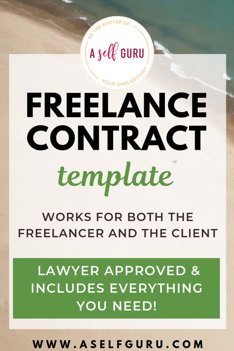 Freelance contract template for your business