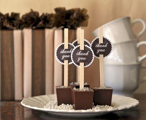 oh!myWedding: Chocolate caliente en las bodas de invierno / Hot Chocolate Bar