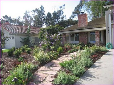 Front Yard Xeriscape Ideas This Is A Fabulous Rock Scaping Landscaping In Escondido Gardens And Landscapes Pinterest Yards